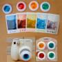 Набор цветных макро-линз для Instax Mini 7s/8