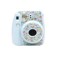 Наклейки стикеры на Fujifilm Instax Mini 8 flower blue