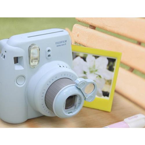 Макролинза с зеркалом для Fujifilm Instax Mini 8, машинка