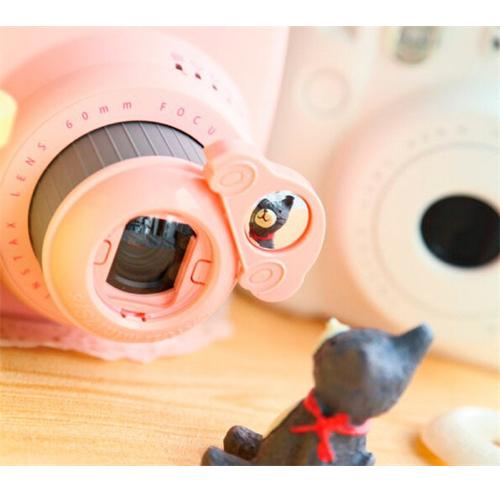 Макролинза с зеркалом для Fujifilm Instax Mini 8, car, rose