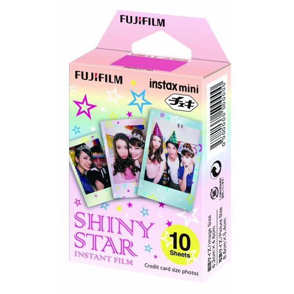 Картриджи fujifilm instax mini shiny star