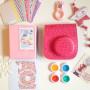 Набор аксессуаров для Fujifilm Instax Mini 8 МАКСИ розовый