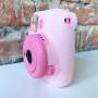 Fujifilm Instax Mini 9 Flamingo Pink и белый кейс