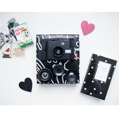 Lomo'Instant-Black-1-Film-Album-Set