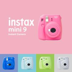 Fuji INSTAX MINI 9: ВСЕ фотоаппараты моментальной печати и наборы