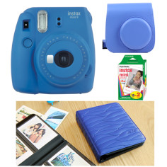 fujifilm-instax-mini-9-blue-cobalt-kit-album-the-leaf