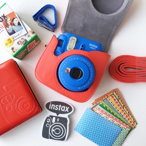 Набор с фотоаппаратом Fujifilm Instax Mini 9 Cobalt Blue