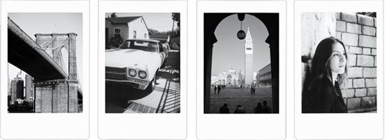Monochrome-frame