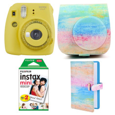 fujifilm-instax-mini-9-clear-kit-yellow-oil
